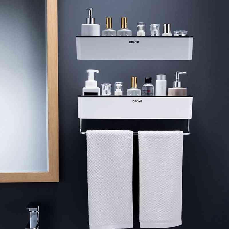 Storage Basket Rack Holder Bathroom Accessories