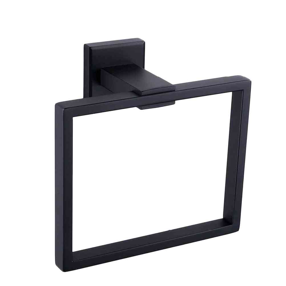 Wall Mounted, Square Style, Stainless Steel, Towel Holder-hanger
