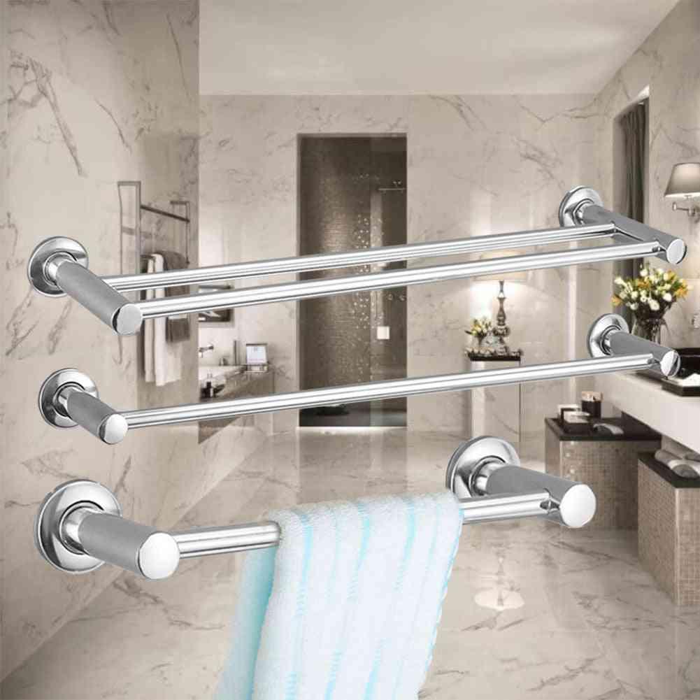 Stainless Steel Fixed Bath Towel Holder, Single Hook
