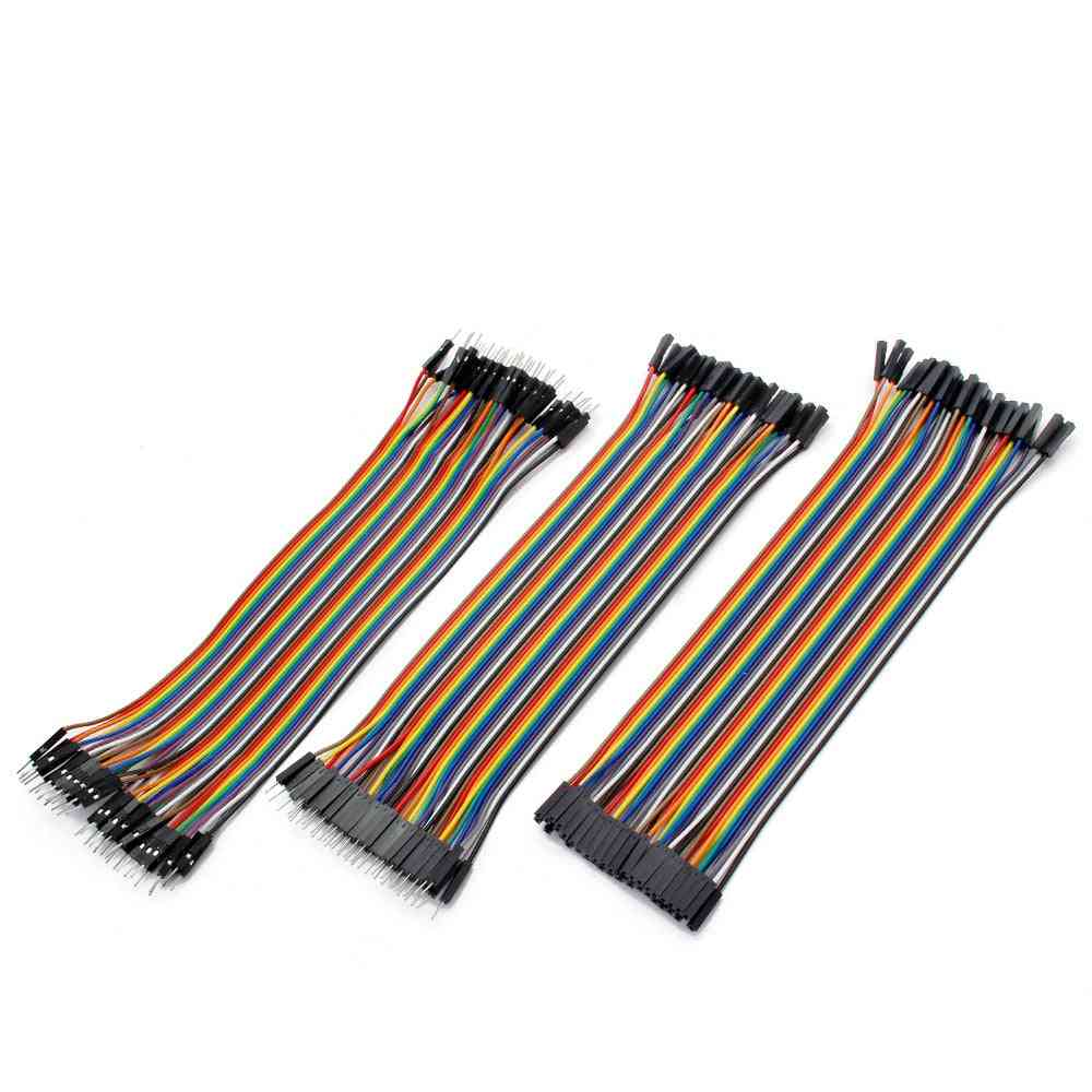 Dupont Cable Jumper, Copper Wire  Line-m To M/f
