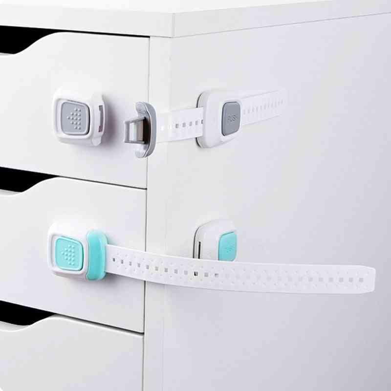 Multi-function Double Button Cabinet Door Lock