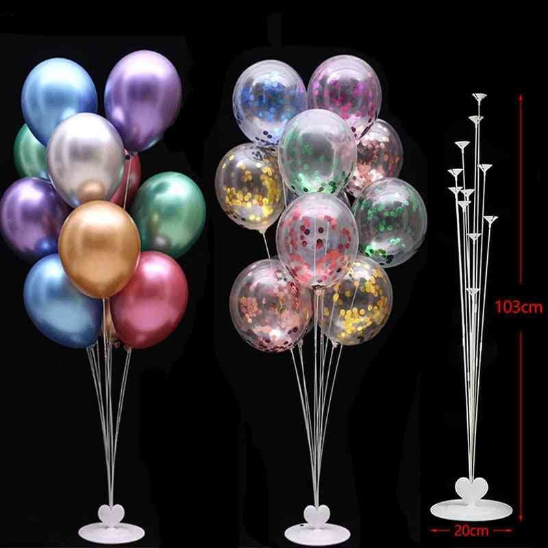 Birthday Party Balloons Stand Holder Column Confetti Decorations Kids Adult Wedding Christmas Ball