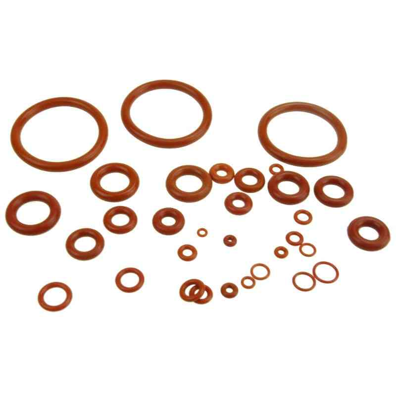Thickness Silicon Rubber O-ring Sealing Od Red Heat Resistance Gaskets
