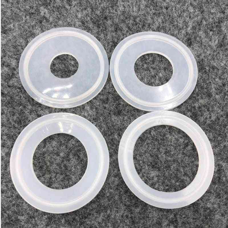 Universal Gasket Fit Pipe Sanitary Tri Clamp Ferrule - Silicone Strip Gasket Ring Washer