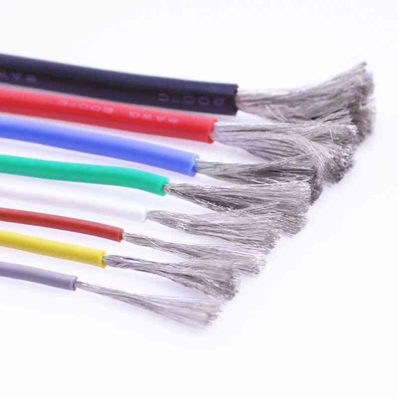 Heat-resistant Silicone Wire  - Awg High Temperature 200 ° & Cold-resistant -60 °