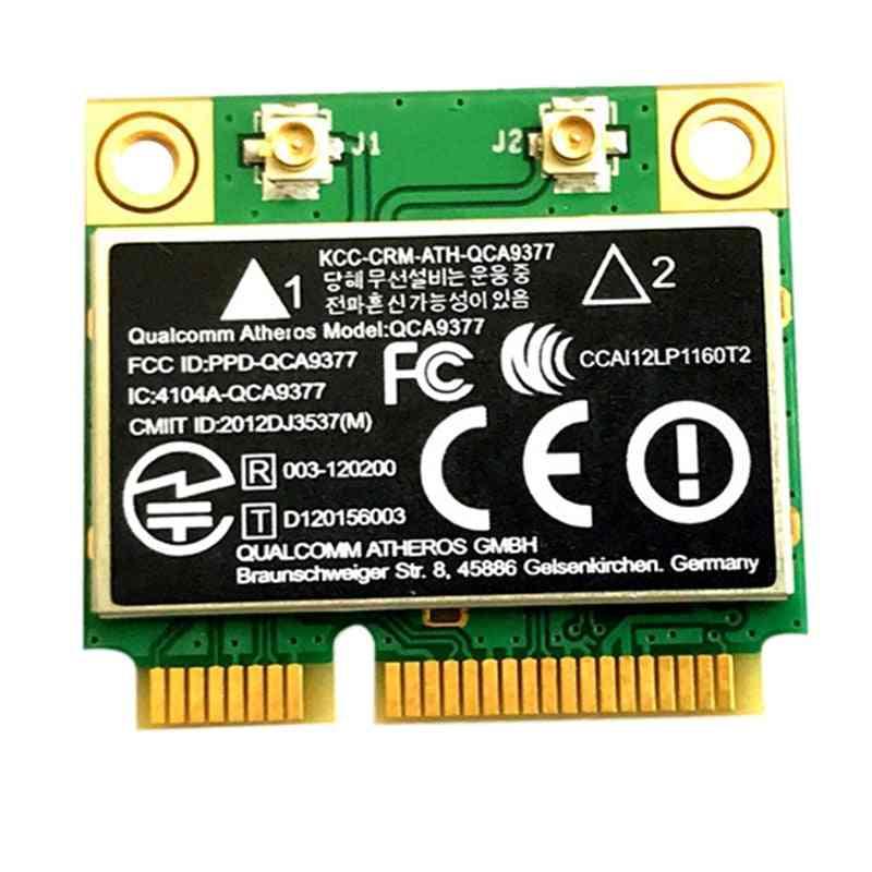 Dual Band Ac Wifi Module Adapter Mini Pci-e 2.4g/5g (black)