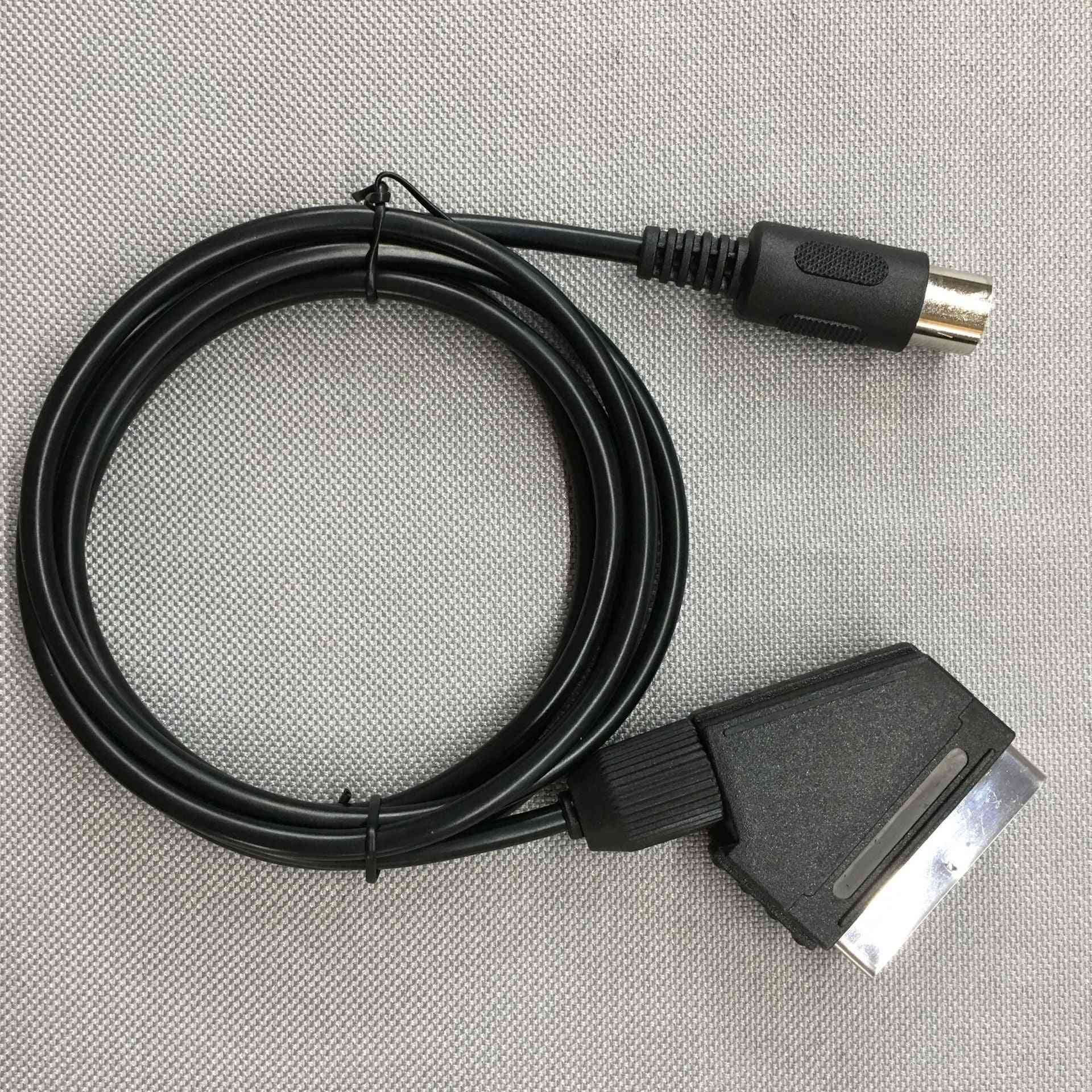 Replacement V-pin Scart Cable For Sega - Megadrive Genesis Master System