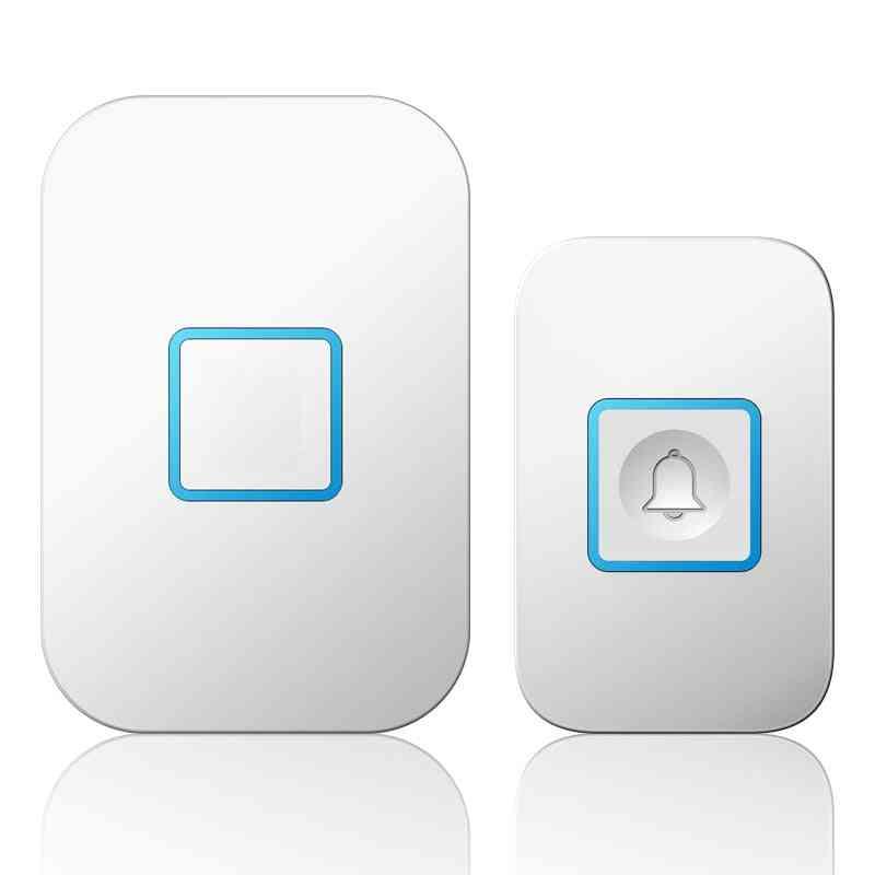 Wireless, Waterproof And Smart Led Light Door Ring Bell