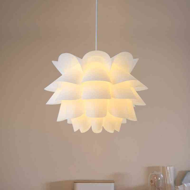 Art Diy Lotus Flower Lamp For Home Decoration