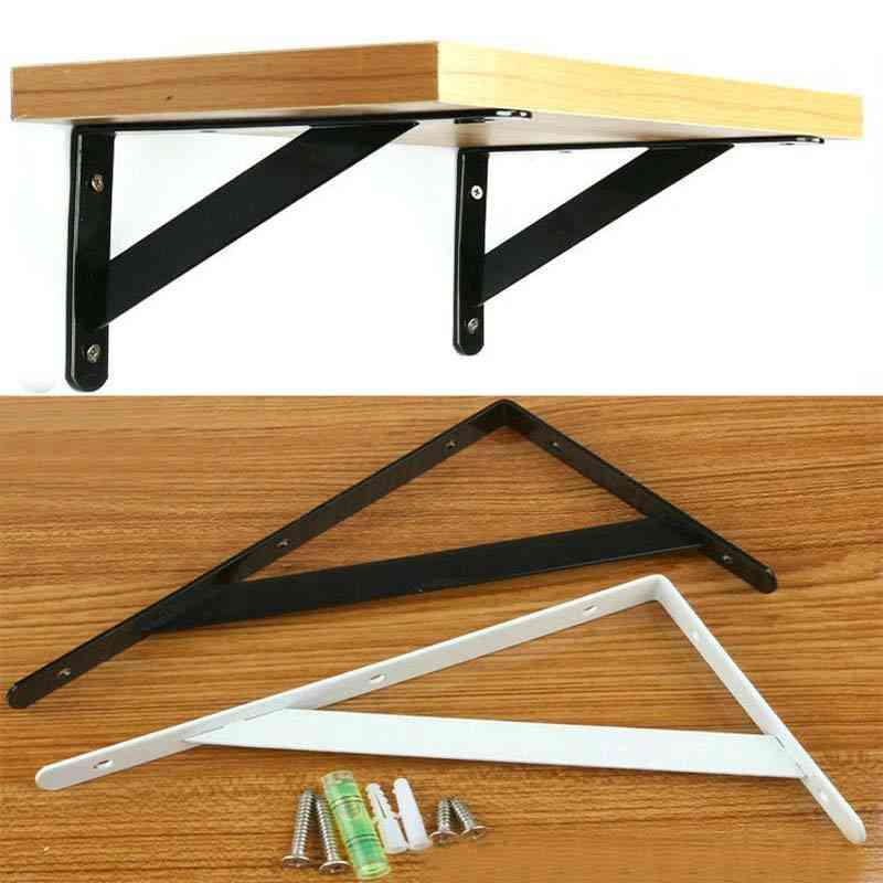 Metal Shelf Bracket L Shape Thickened Corner Brace Right Angle For Commodity Furniture Fitting