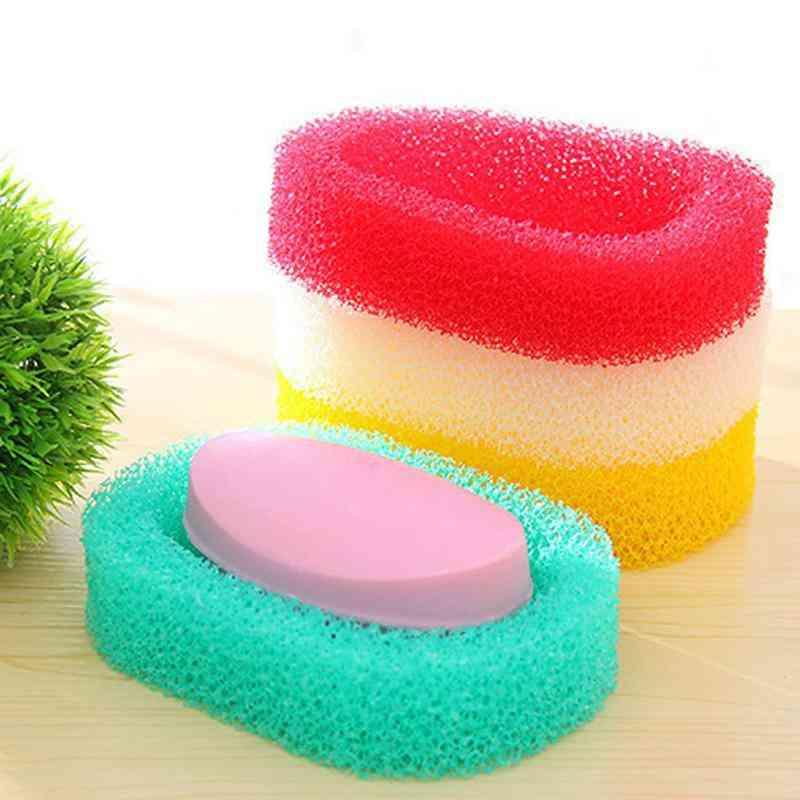 Draining Sponge Soap, Dish Plate, Storage Boxes For Washroom