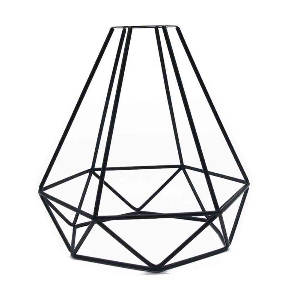 Ceiling Light Cover - Hanging Lampshade Retro Vintage Iron Shop Diy Accessories Pendant