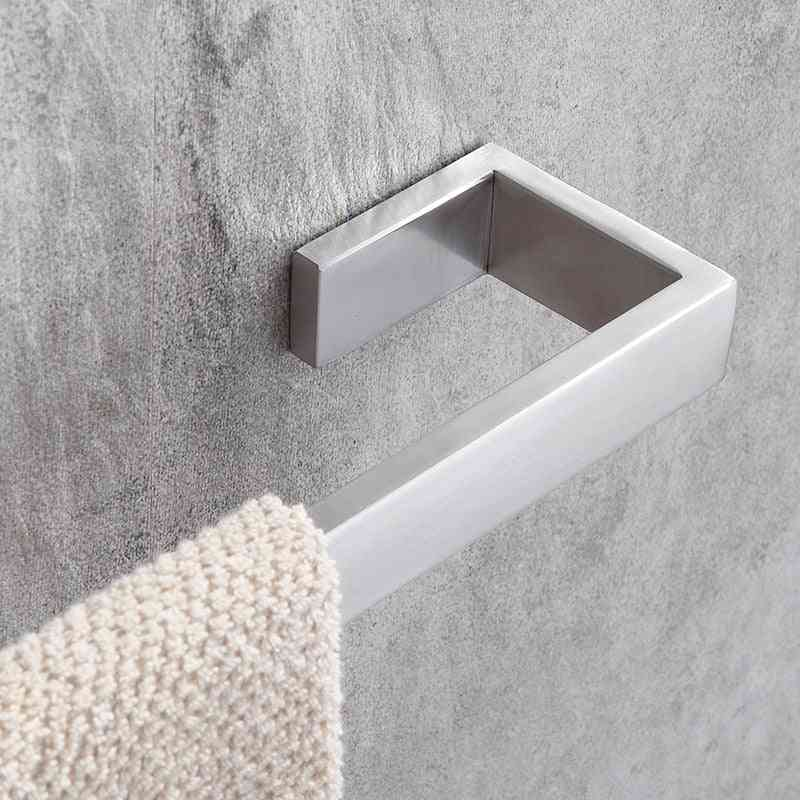 Stainless Steel  Brushed Wall Mount Towel Bar