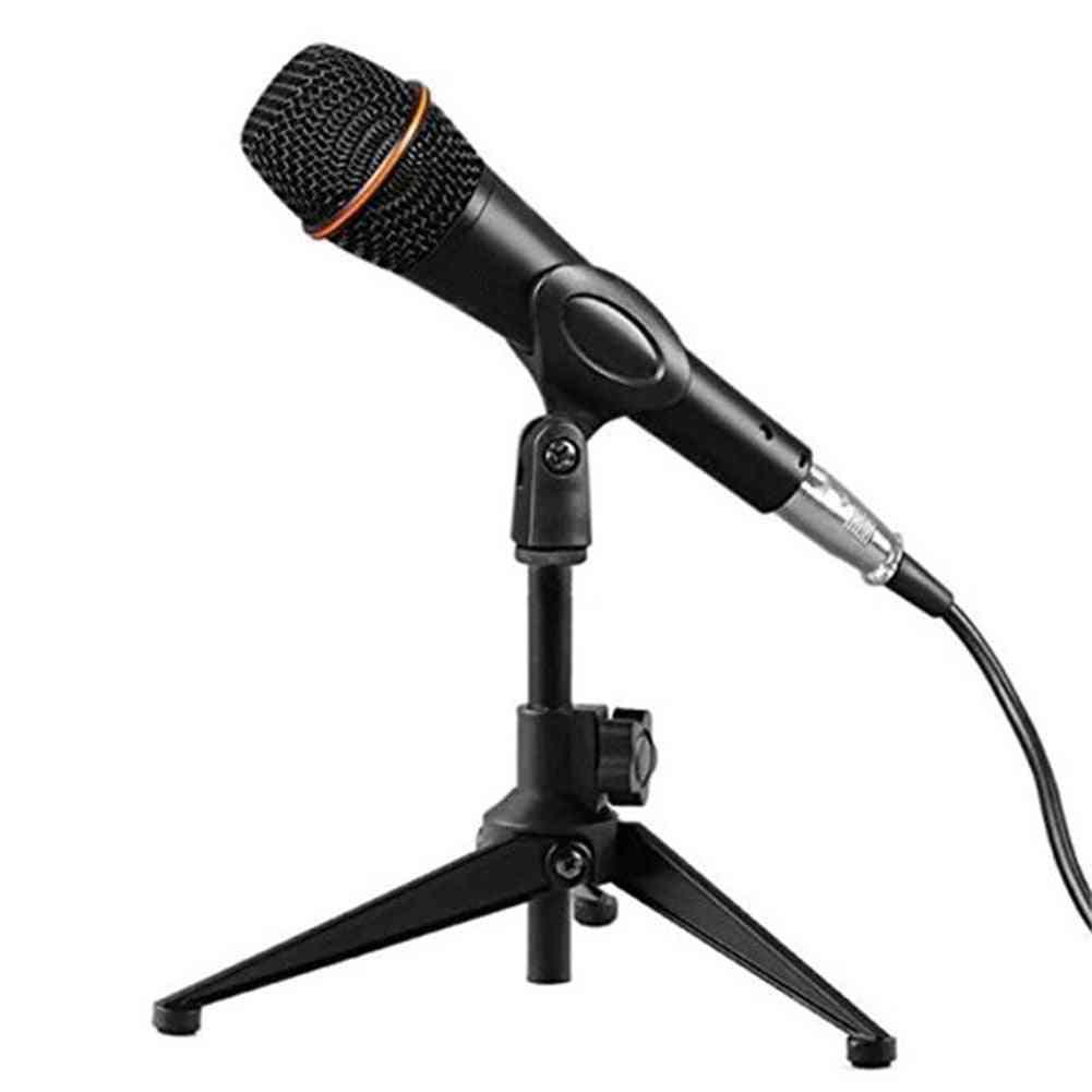Microphone Stand - Desktop Tripod Wired Wireless E300