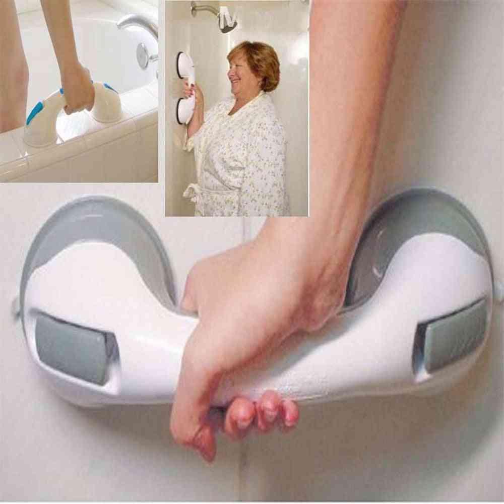 Bath Safety Handle - Suction Cup Grab Bathroom Grip Tub Shower Bar Rail