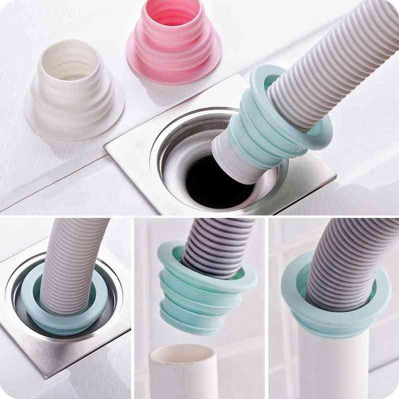 Plastic Deodorant Wash Machine Pipe Connector Tools - Sealing Plug Trap