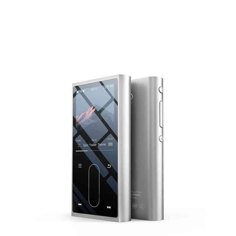 Mp3 Player Metal Case Sport Audio - Mini Lcd Screen