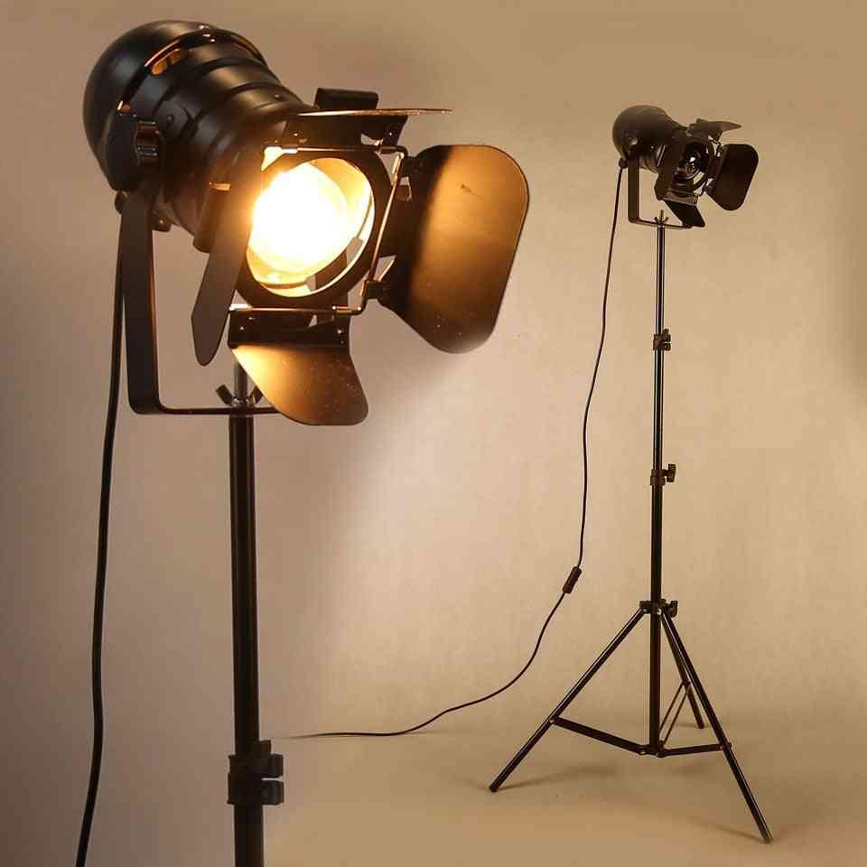 Floor Lamp Industrial Bar - Creative Studio Retro Tripod And Floor Lights Stand