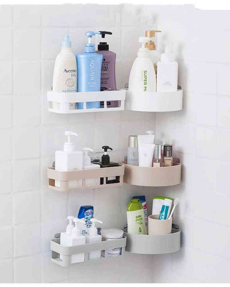 Wall Hanging, Bathroom Storage Rack, Corner Shower Shelf