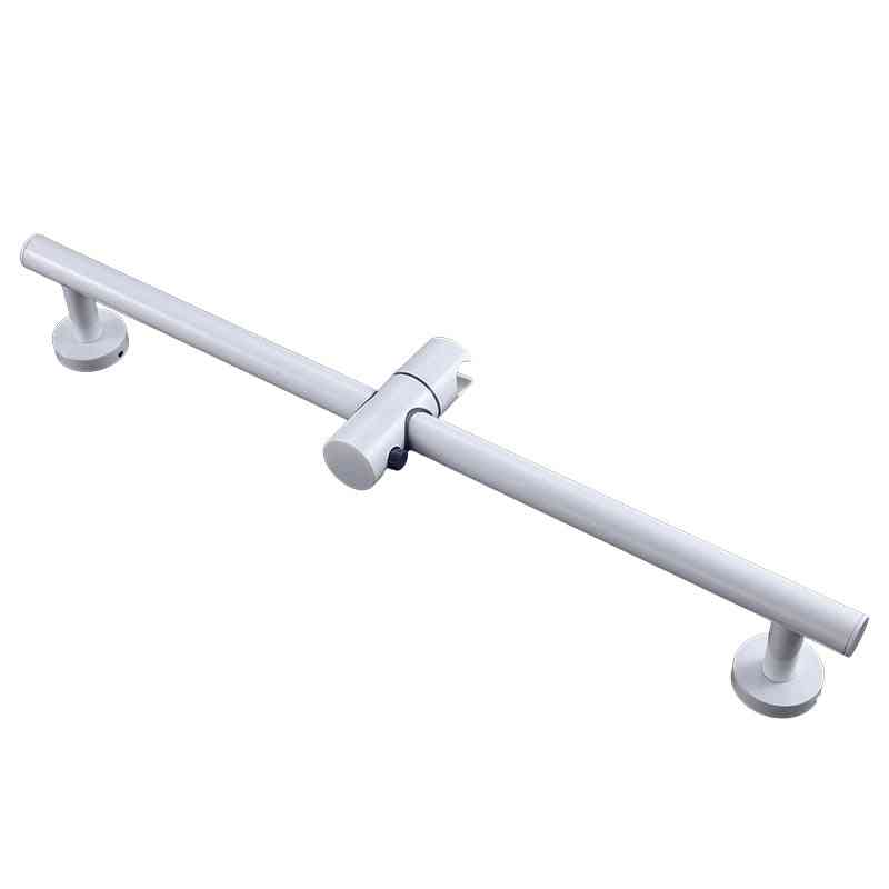 Stainless Steel Slide Bars With Handheld Shower Bracket