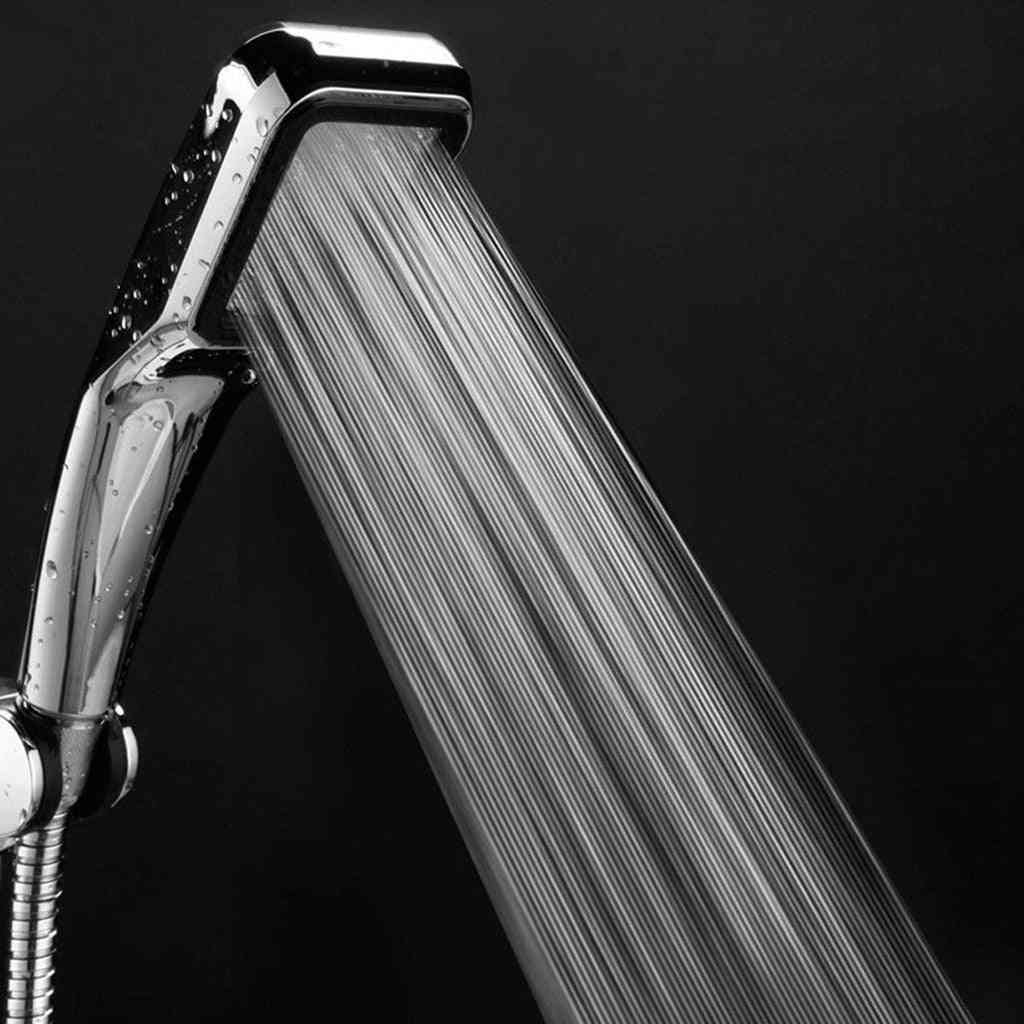 High Pressure, Handheld Shower Head With 300 Holes