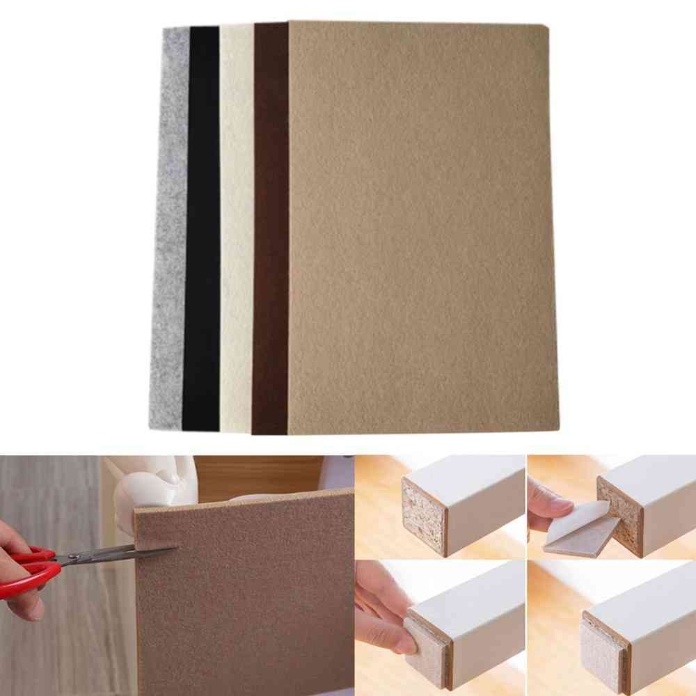 Anti-slip Protective Pad- Floor Protector Felt For Furniture