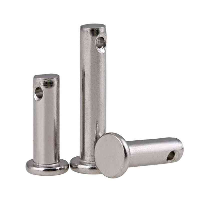 Stainless Steel Pin Flat Head With Hole Cylindrical Locating