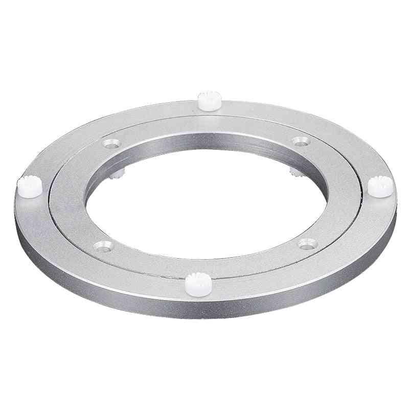 Aluminium Alloy Round Shape Table Bearing/turntable Plate