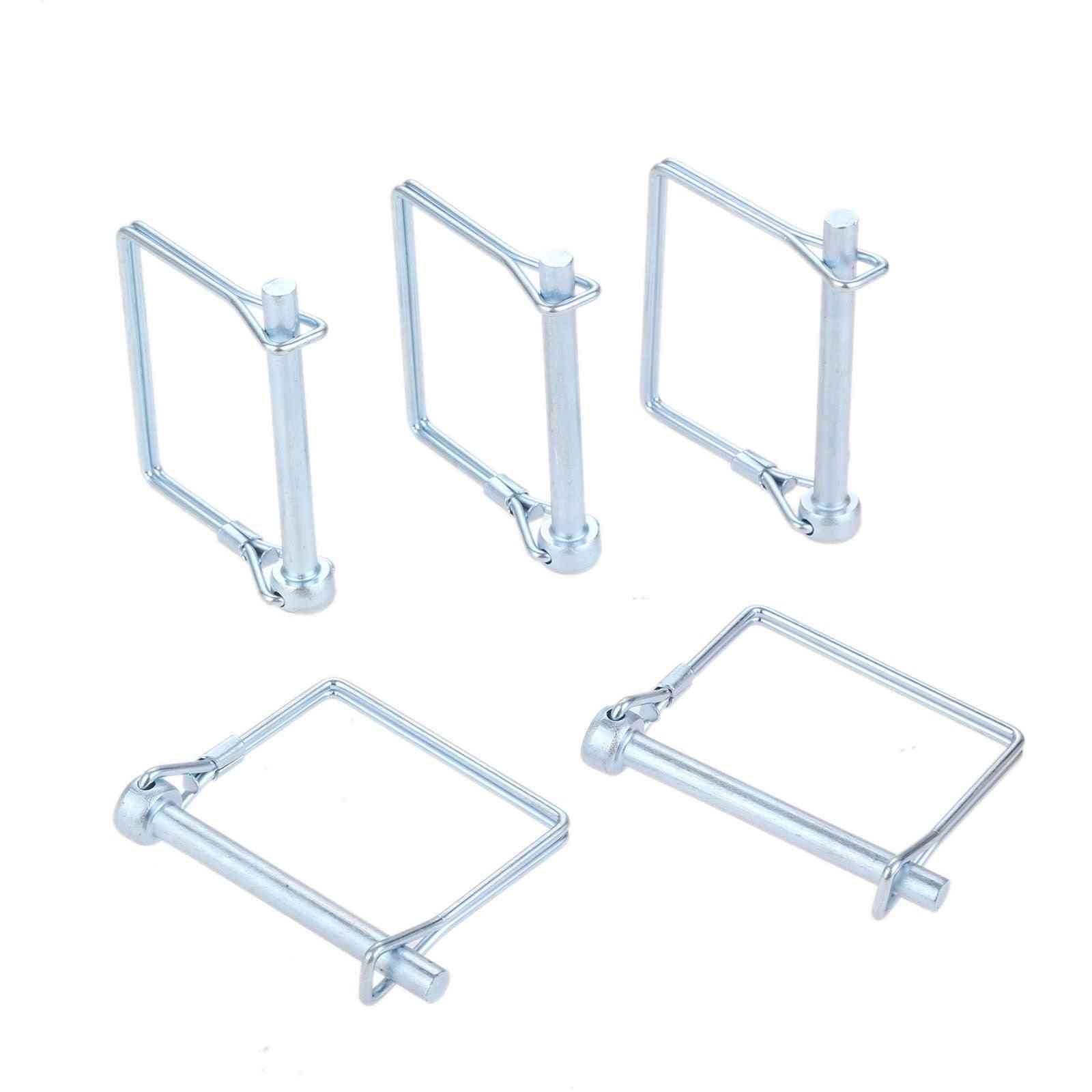 Steel Auto Car Trailer Coupler Safety Square Shaft Pin Lock