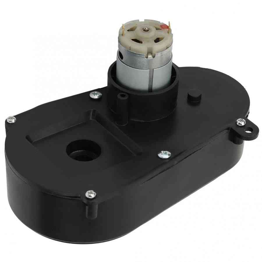 Electric Motor Steering Reverse Gearbox Car Toy