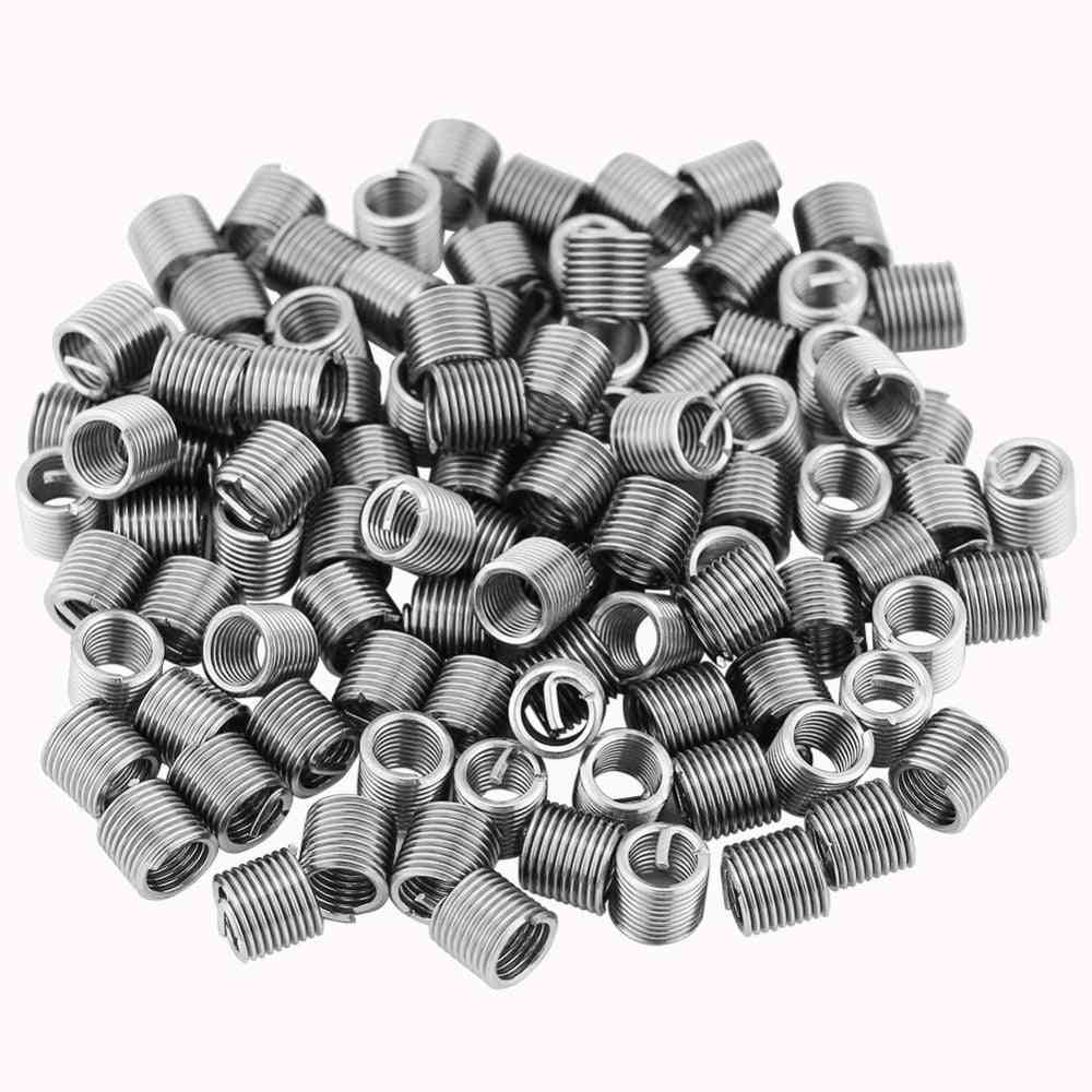 304 Stainless Steel, M5, Wired Screw Sleeve- Helical Thread Repair Insert- Assortment Kit