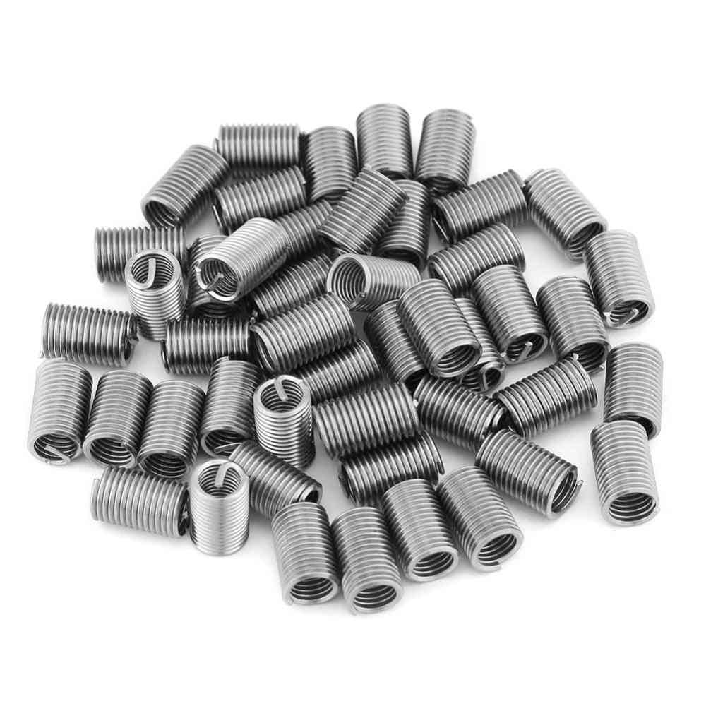 Stainless Steel Threaded Insert - Coiled Wire Helical Screw
