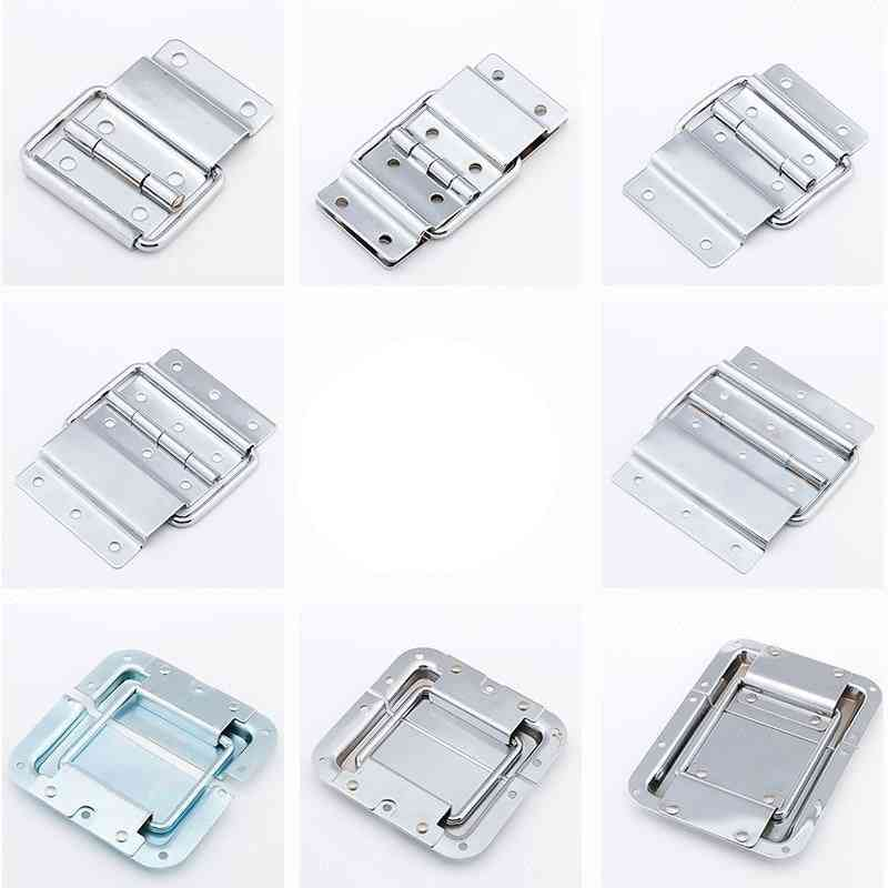 Wooden Toolbox Aluminum  Cipher Box Aircraft Cabinet Suitcase Support Hinge Box, Hinged Suitcase Fitting