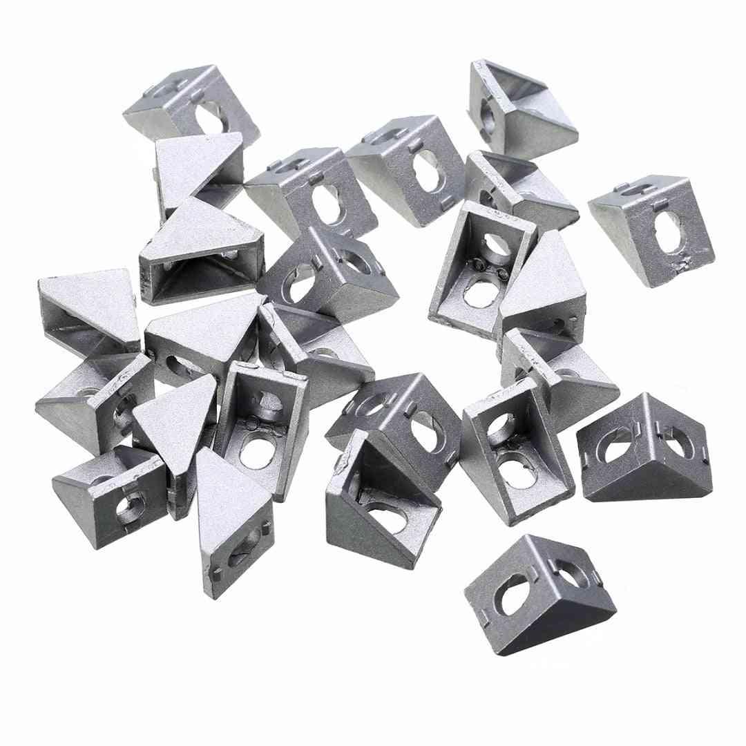 25pcs Durable Aluminum Corner Bracket