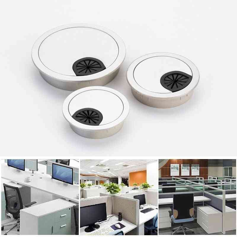 Plastic Desk / Table Cable Cord Hole Cover