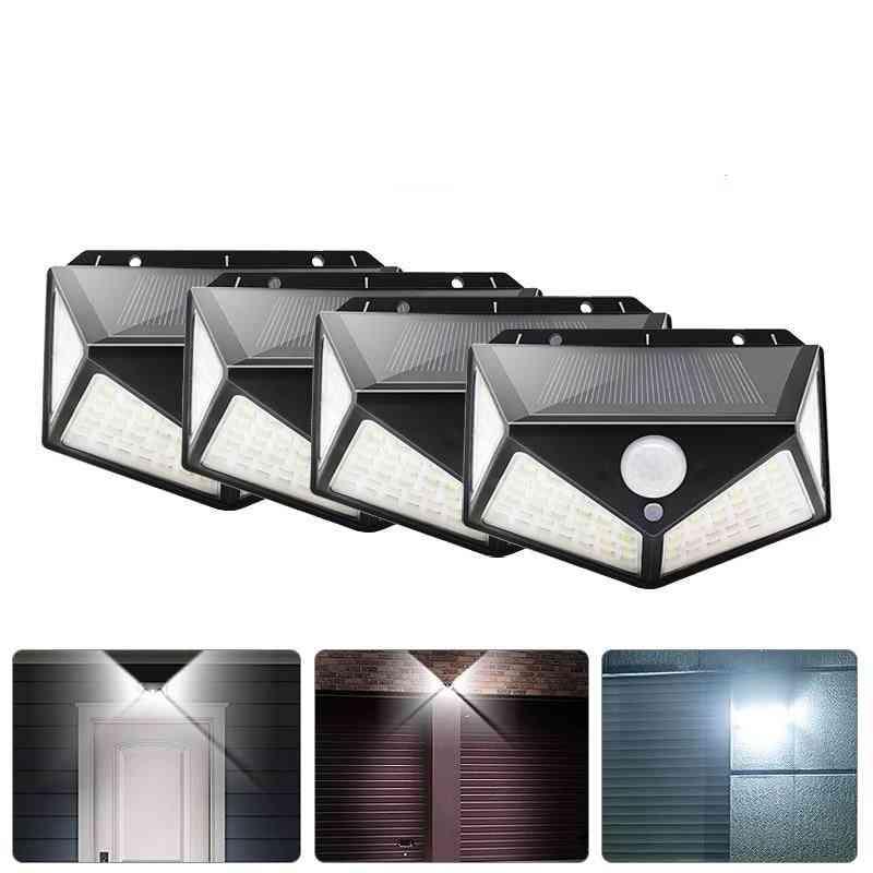 Lamp Powered Sunlight Waterproof  With Motion Sensor Street Light