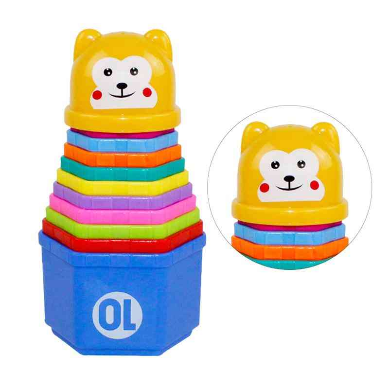 Funny Plastic Adorable Playing Stacker Educational