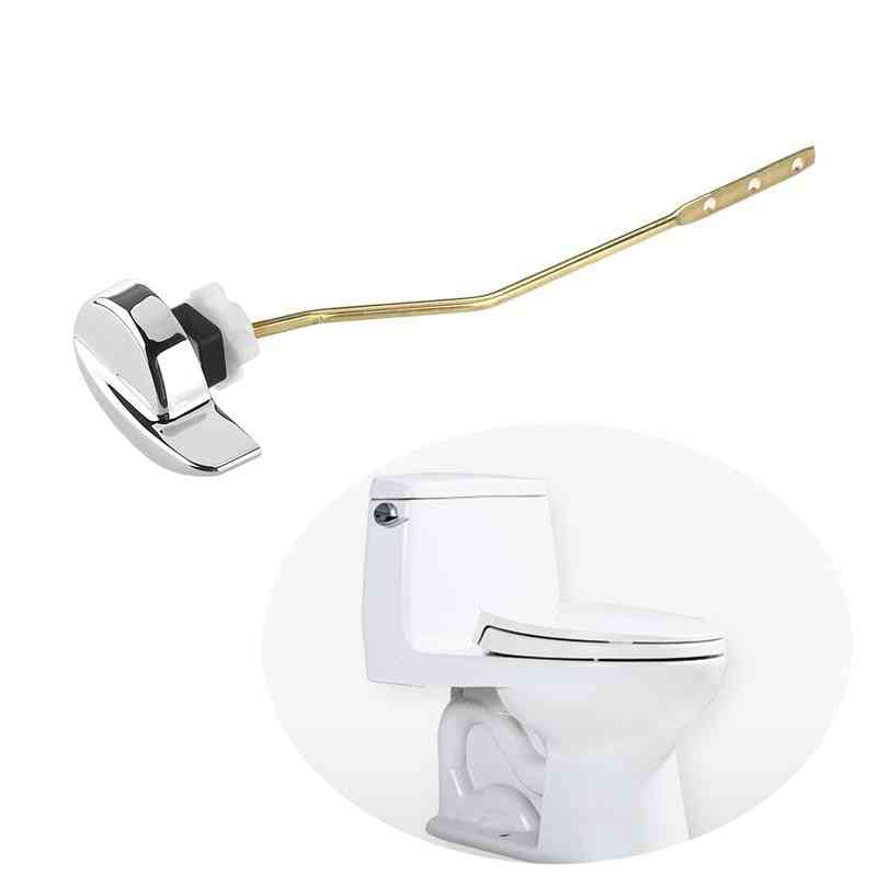 Angle Fitting, Side-mount Lever Handle For Toilet Tank