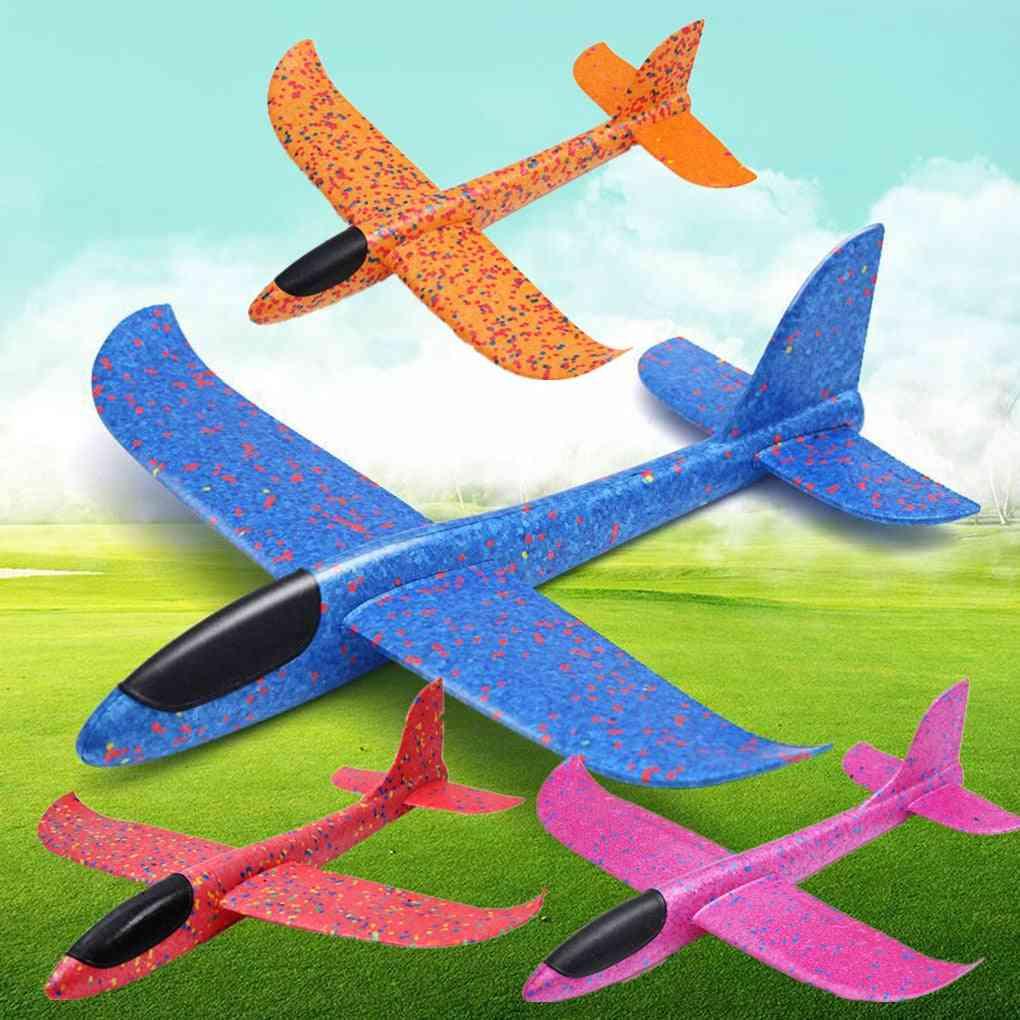 Children Hand Throw Flying Glider Planes
