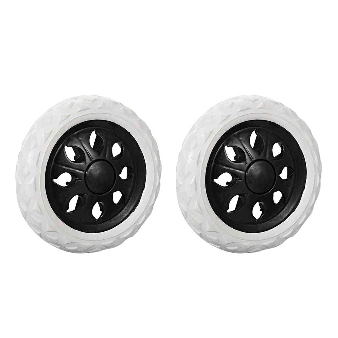 2pcs Shopping Trolley Caster Replacement Wheels