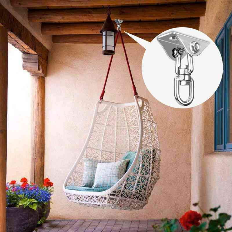 Stainless Steel Hammock Swing Chair Hook, With 360°rotation