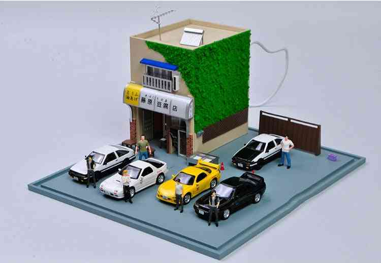 1:64 Scale  Movie Version Resin Scene Model- Layout