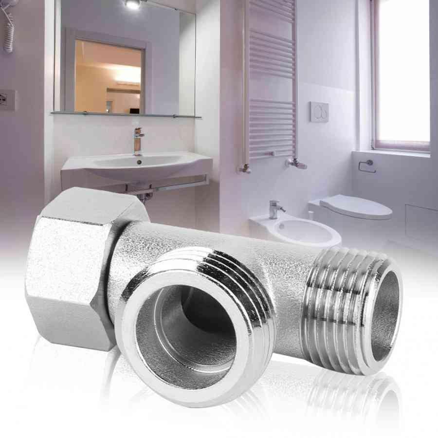 3 Way Connector Valve - Toilet Diverter & Adapter Flushing