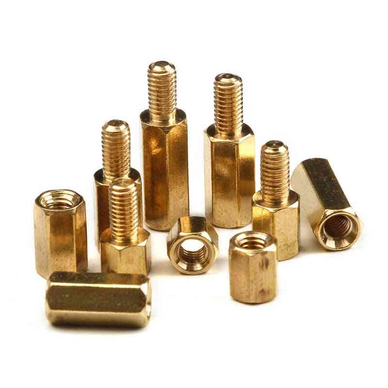 M2/m3 Hex Head Brass Standoff Spacer Screws  - Electric Pcb Circuit Board