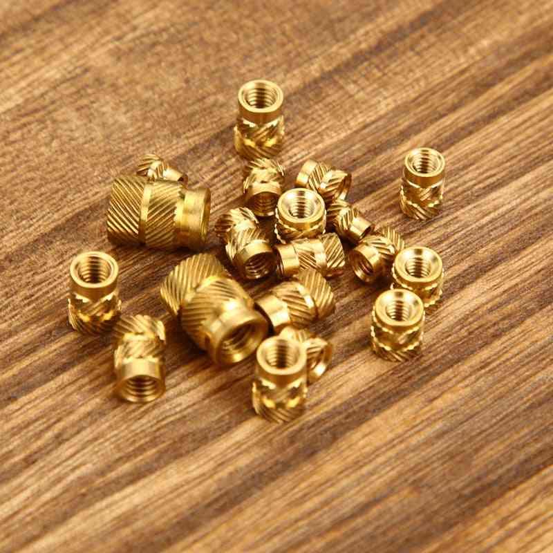 Brass Melt Insert Nuts - Heating Molding Copper Thread