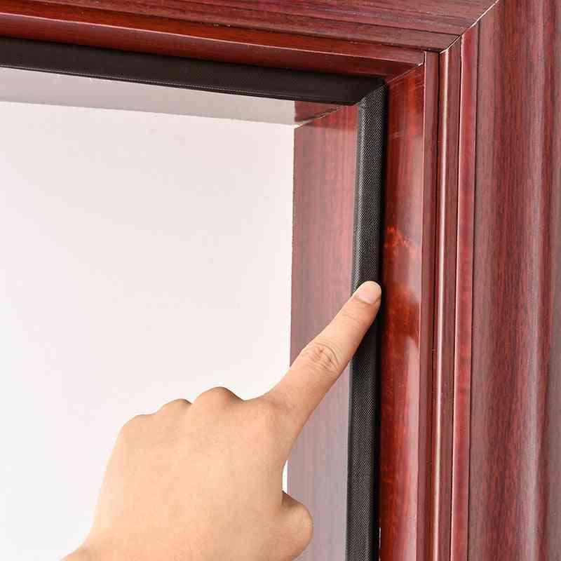 V Type, Self Adhesive Pu Foam, Sound Proof Door Strip