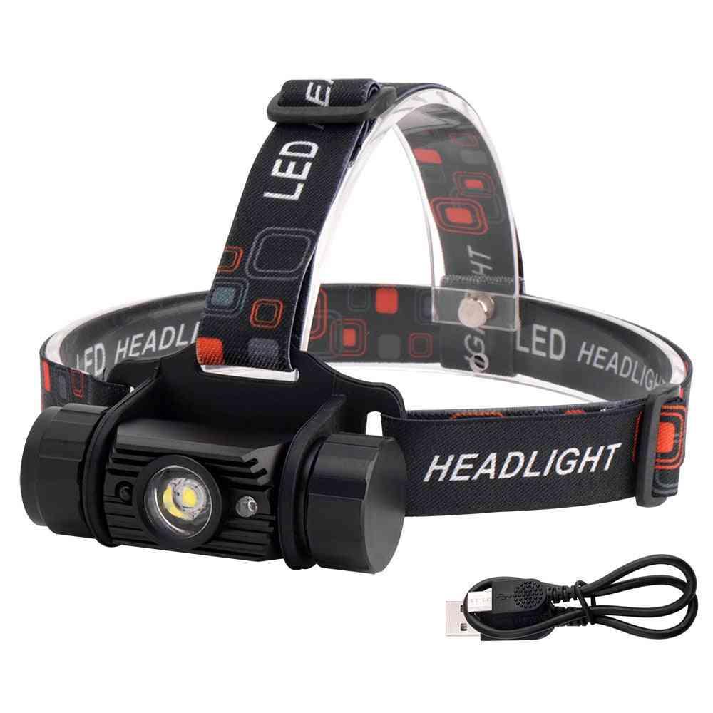 Rj-020 Xpe Led Induction Headlamp, Motion Sensor Headlight