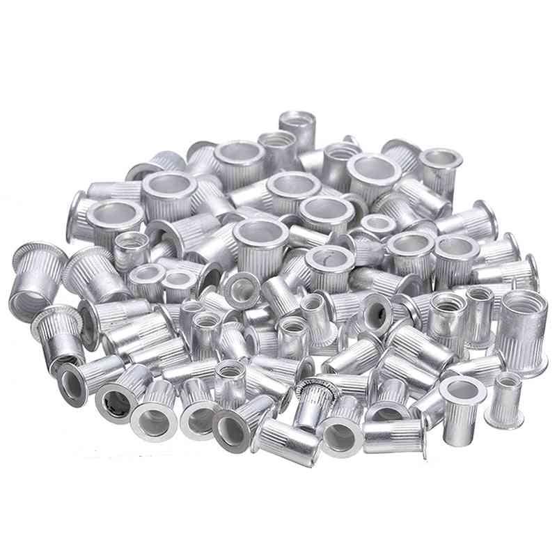 Steel Aluminum Rivet - Threaded Nut Inserts Kit Set
