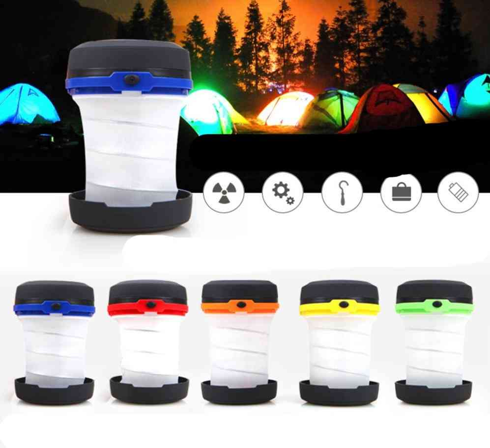 Portable Camping Tent Light - Multifunction Retractable Lamp