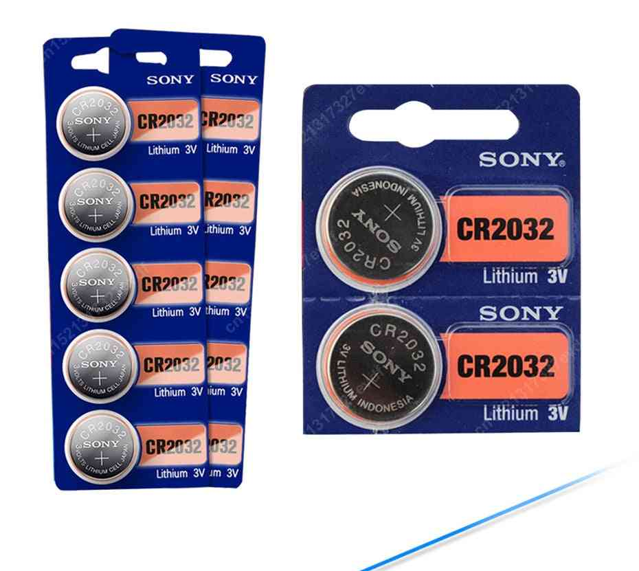 15pcs/lot Cr2032 Button Cell - 3v Coin Lithium Battery For Watch/remote Control/calculator